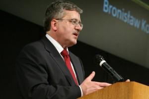 Bronisław Komorowski: nie chcę wetować ustaw zdrowotnych, porozmawiajmy