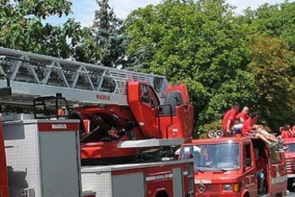 Łódź: będą operować i odkażać w strażackim kontenerze