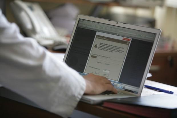 Łódź: wyniki badań po kliknięciu myszką