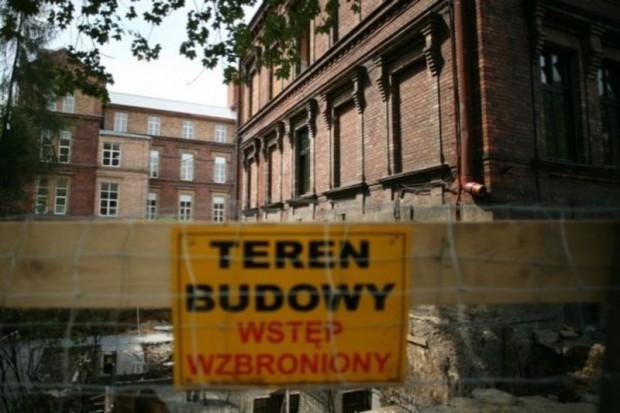 Łódź: rozbudowa szpitala Bonifratrów