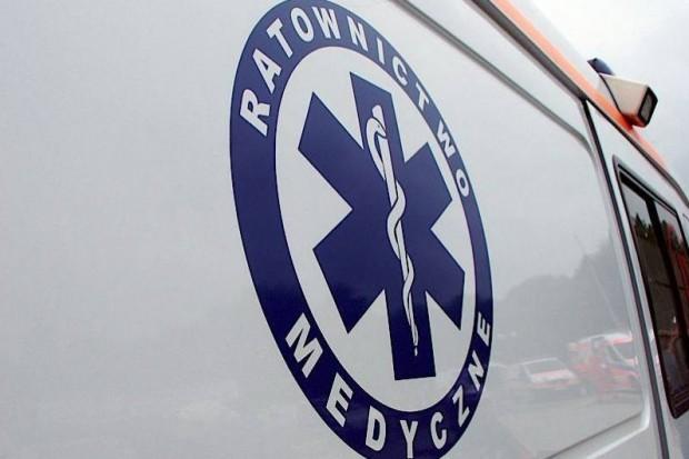 Mandat dla kierowcy karetki: za szybko wiózł pacjentkę do szpitala
