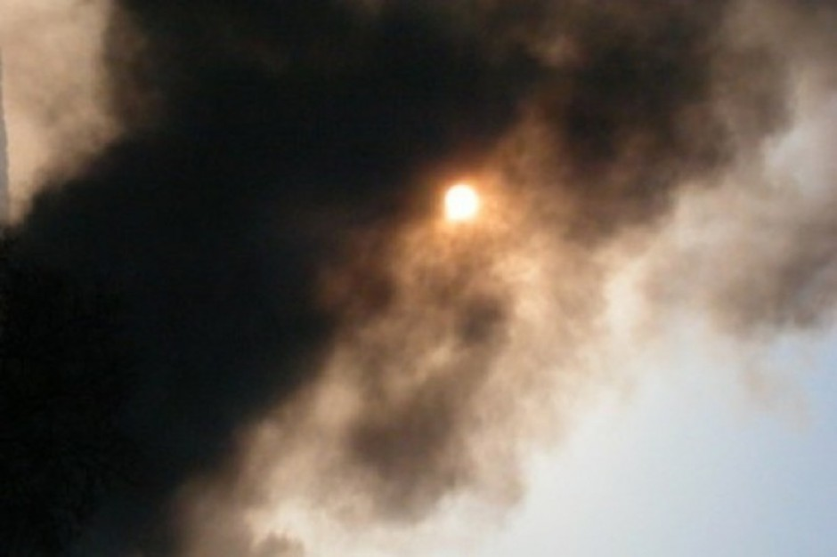 Choszczno: pożar w szpitalu