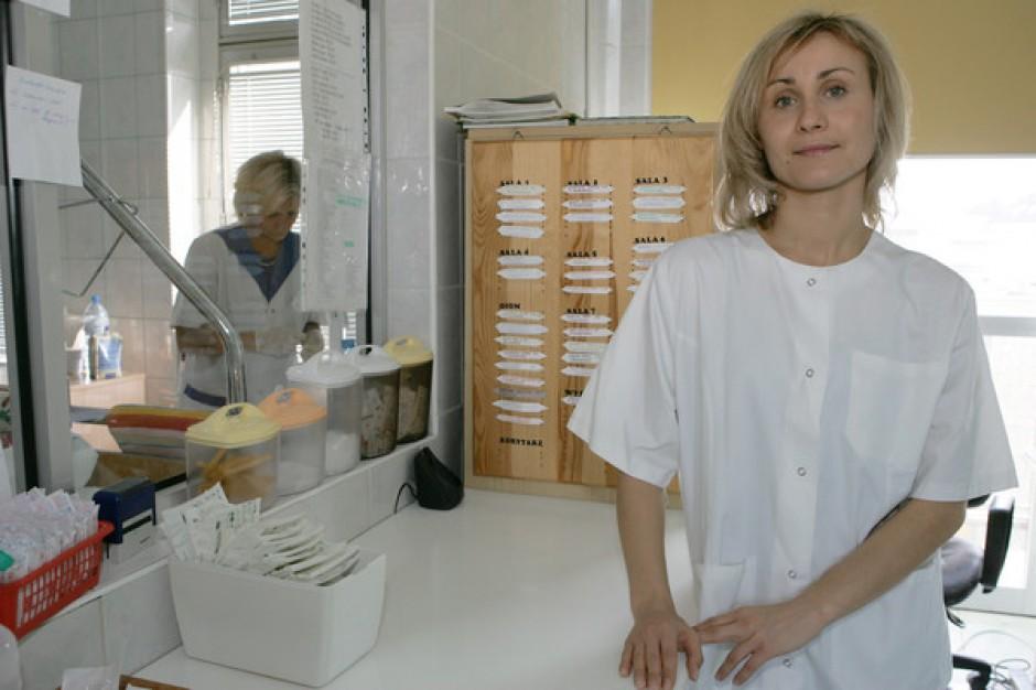 Pielęgniarki kontraktowe nie popierają protestu OZZPiP