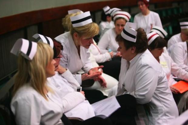 Pielęgniarki chcą spotkać się w Sejmie z Anną Komorowską