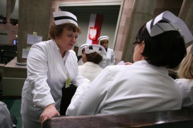 Kolejne spotkanie Anny Komorowskiej z pielęgniarkami