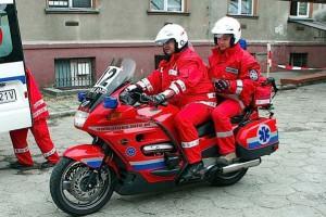 Kraków: ratownicy na motocyklach wyruszą na ulice miasta