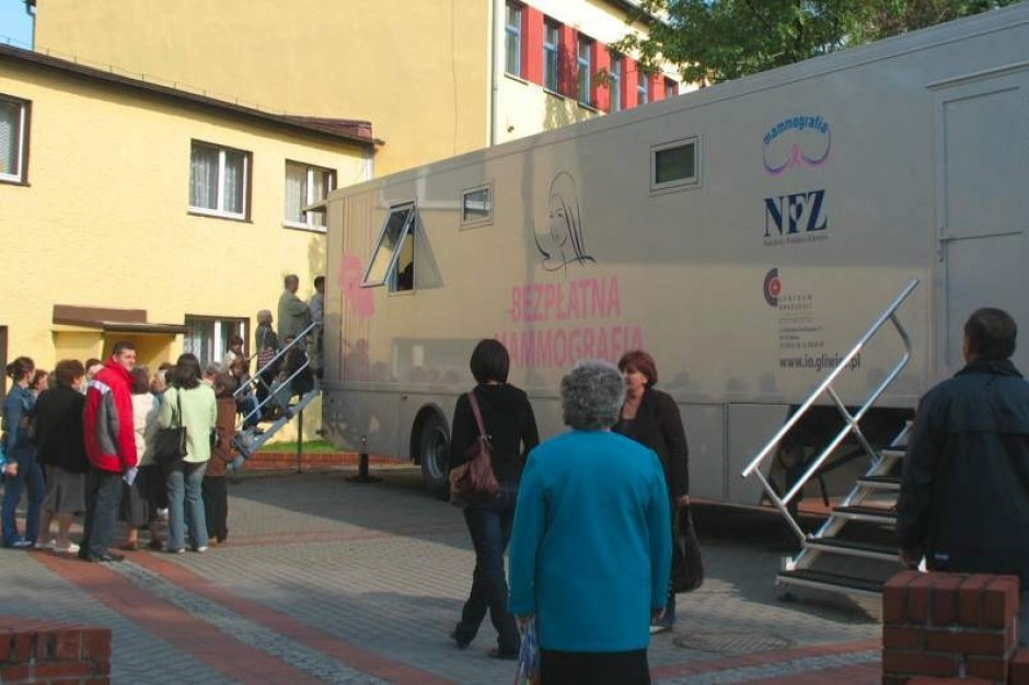 Śląsk: mammobus przyjedzie do gminy Ożarowice