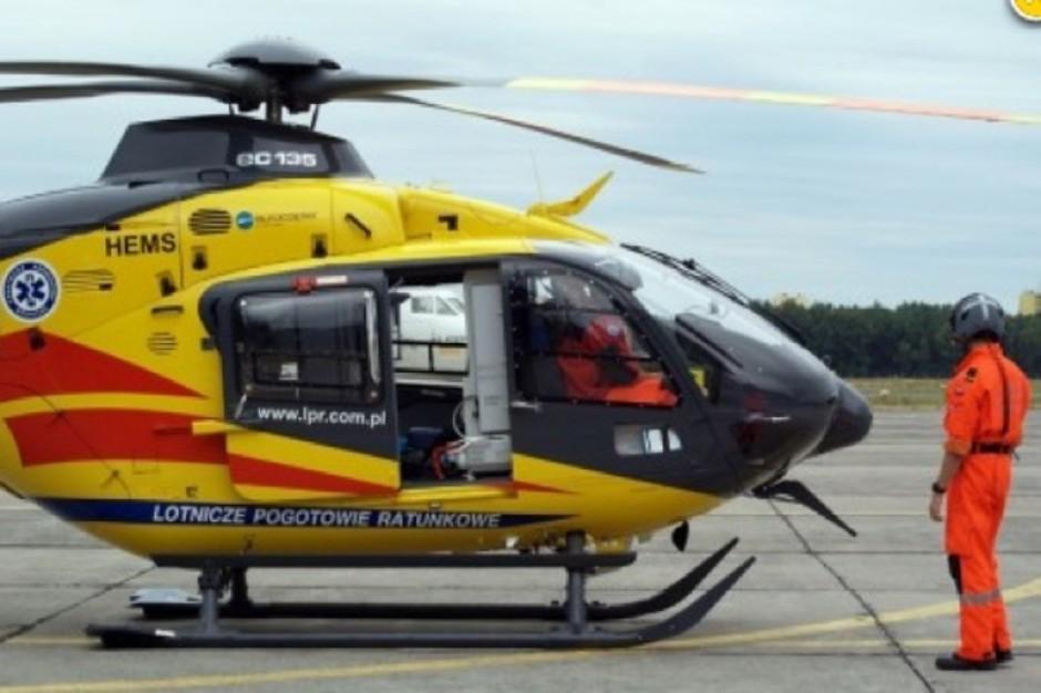 Śląskie: gliwicka baza LPR ma nowy helikopter
