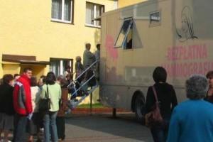 Ostrów Mazowiecka: panie przebadane mammograficznie - pomógł samorząd