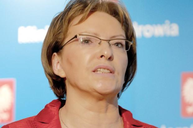 Ewa Kopacz ocalona w Sejmie