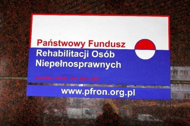 Sejm: obecny status PFRON będzie przedłużony do 2015 roku