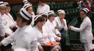 Kraków: strajkowały pielęgniarki szpitala im. Jana Pawła II, trwają rozmowy z dyrekcją
