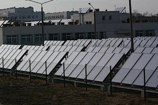 Radomsko: szpital instaluje baterie solarne