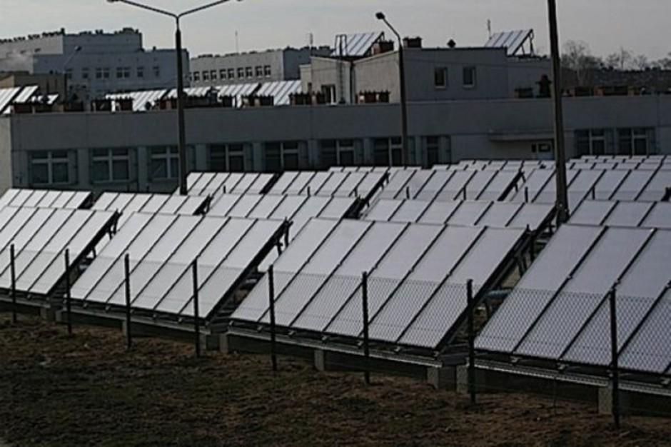 Mazowieckie szpitale stawiają na kolektory słoneczne