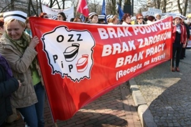 Jarosław: maszerowali w obronie pogotowia