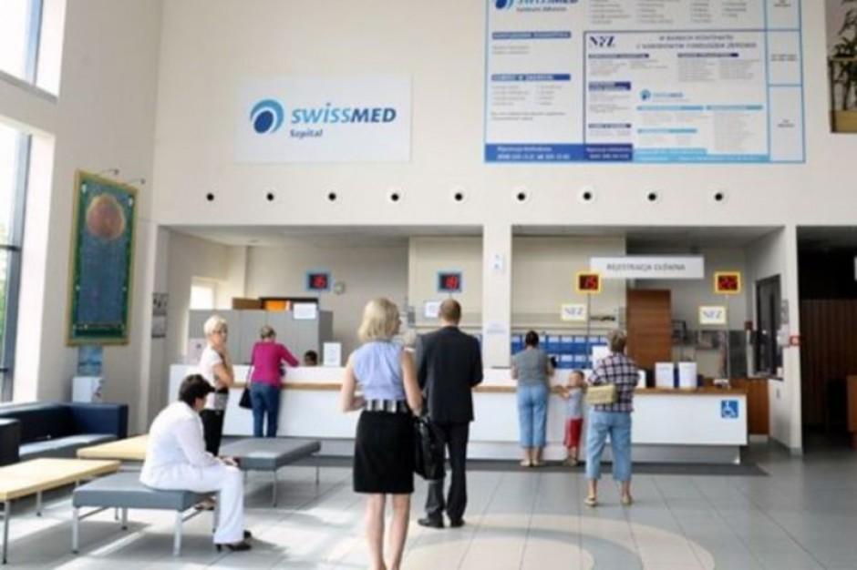 Swissmed pożycza 10 mln zł  na wyposażenie szpitala
