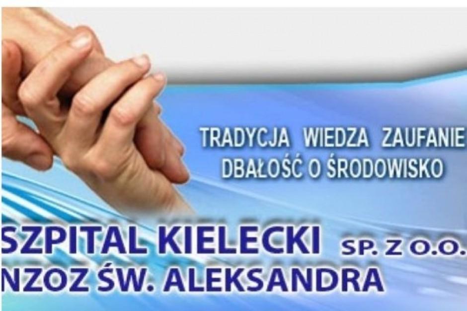 Kielce: pracownicy Szpitala Kieleckiego organizują pikietę