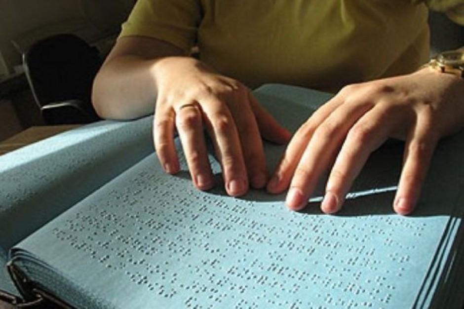 Wybory: został tydzień na zgłoszenie głosowania przy pomocy nakładki Braille'a