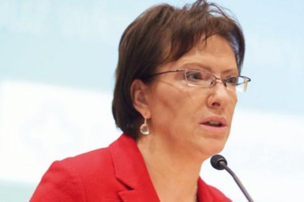 Ewa Kopacz chce się spotkać z prezesem PiS