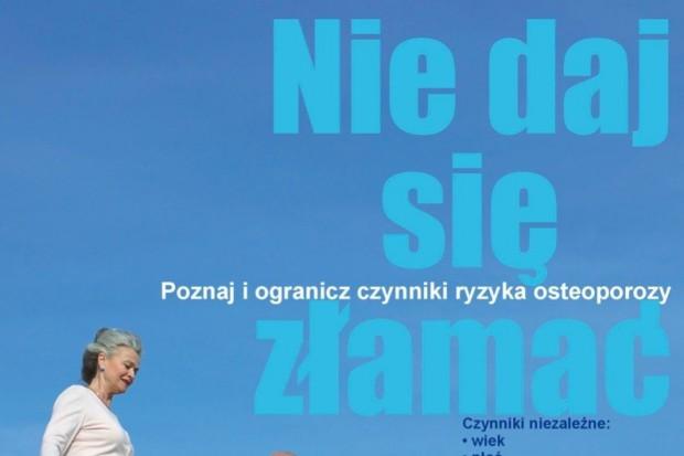 Eksperci: prawie 3 mln Polaków choruje na osteoporozę