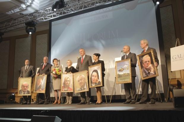 VII Forum Rynku Zdrowia: poznaliśmy laureatów Portretów Polskiej Medycyny 2011