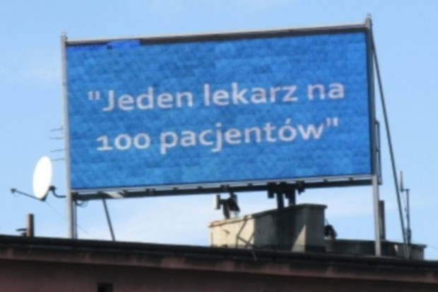 Śląskie: lekarze pikietowali m.in. przeciw zwolnieniom w szpitalach