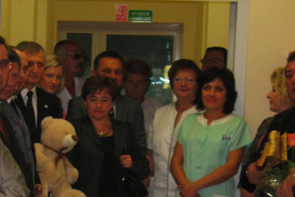 Jawor: otwarto nowy oddział pediatryczny