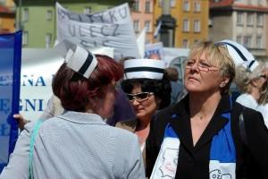 Iwona Borchulska przewodniczącą Związku Zawodowego Pielęgniarek
