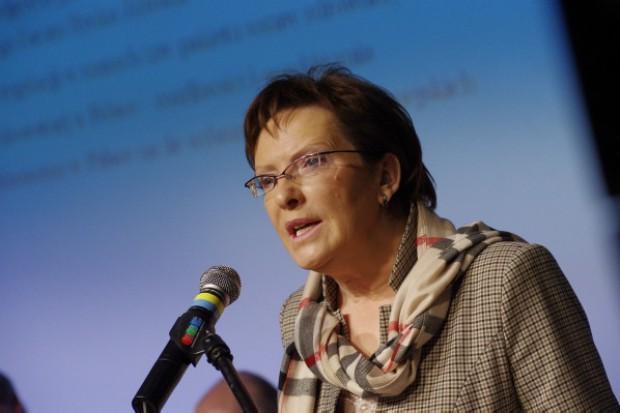 Ewa Kopacz: Trzymajcie ochronę zdrowia daleko od polityki!
