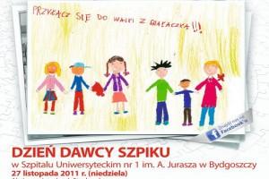 """Bydgoszcz: w niedzielę """"Dzień Dawcy Szpiku"""""""