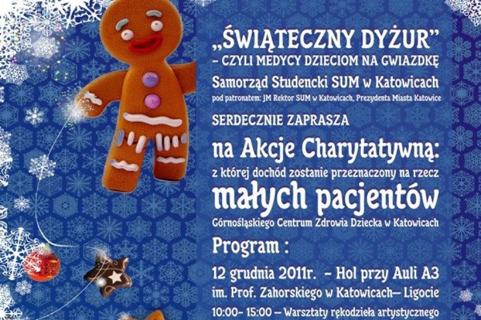 Katowice: świąteczna akcja studentów medycyny
