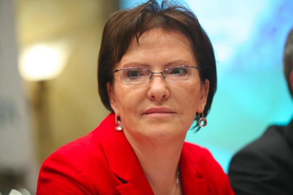 Ewa Kopacz nie komentuje dyskusji wokół ustawy refundacyjnej