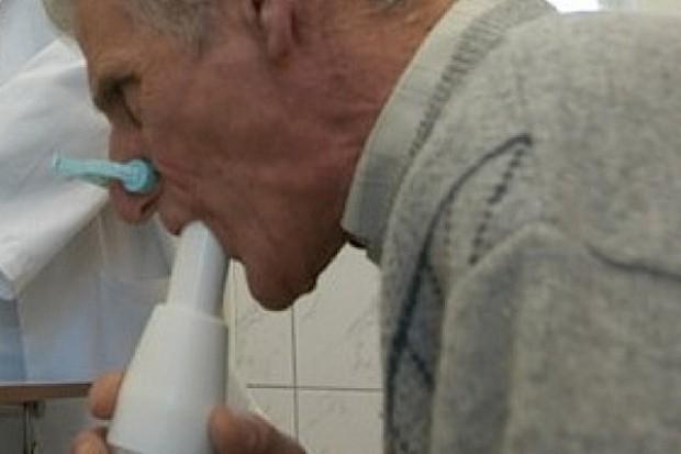 Minimalny opór w drogach oddechowych w czasie maksymalnego wdechu - markerem astmy