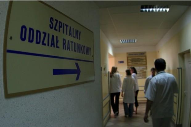 Łódzkie: protestują przeciwko likwidacji SOR-u w Zgierzu