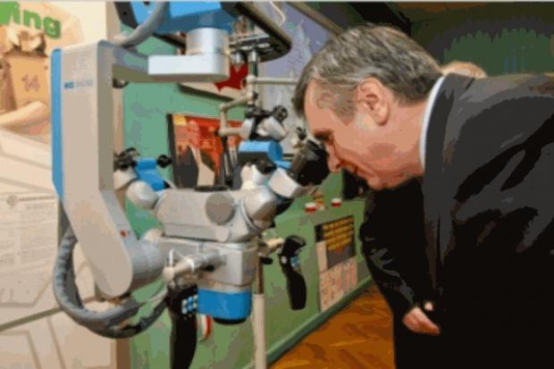 Bytom: szpital ma nowoczesny mikroskop operacyjny