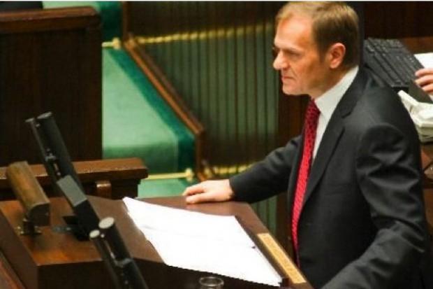 Tusk: ustawa spowodowała obniżenie cen leków refundowanych i ogranicza zjawiska korupcyjne