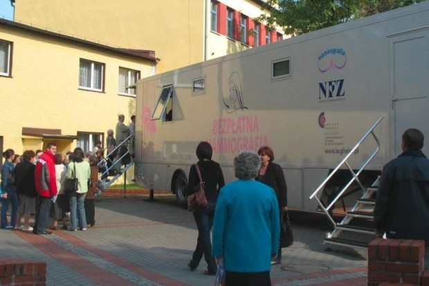 Śląskie: bezpłatne badania mammograficzne w Żorach