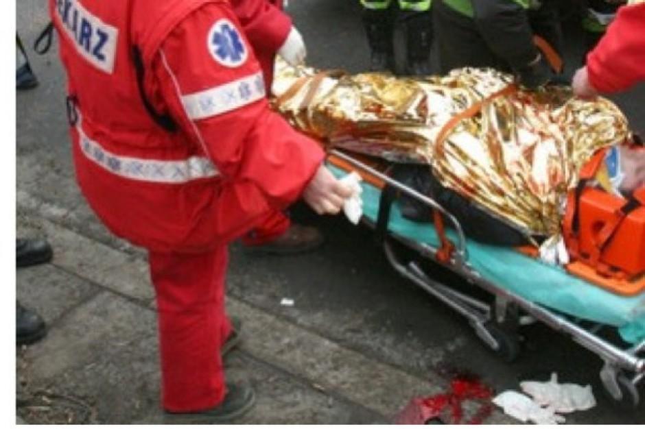 Bielsk Podlaski: wypadek karetki, pacjent nie żyje