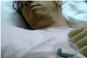 Mężczyzna umiera młodo, bo jest ryzykantem i się nie leczy