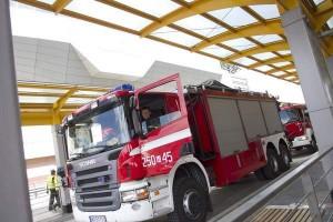 W Olsztynie palił się szpital. Interweniowało 5 wozów strażackich