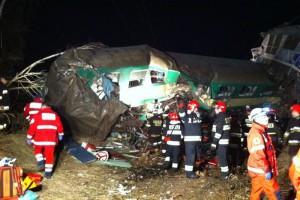 W szpitalach pozostaje 15 poszkodowanych w katastrofie kolejowej