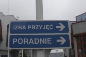 Poznań: remont izby przyjęć - problem dla oddziałów ratunkowych