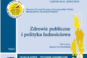 """Książka """"Zdrowie publiczne i polityka ludnościowa"""""""
