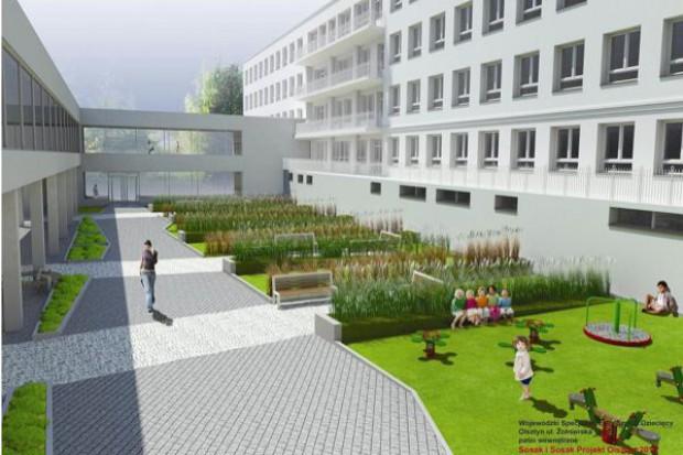 Olsztyn: budowa skrzydła szpitala dziecięcego zgodnie z planem