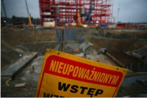 Białystok: poślizg na budowie BCO