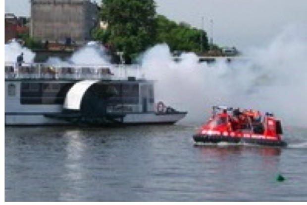 Warmińsko-Mazurskie: nowoczesna łódź ratunkowa na jeziorze Mamry