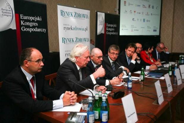 """IV Europejski Kongres Gospodarczy: debata """"Inwestorzy i medycyna, czyli w poszukiwaniu kapitału oraz przychodów"""""""