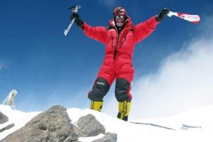 Gdańsk: specjalista medycyny wysokościowej zdobył Mount Everest