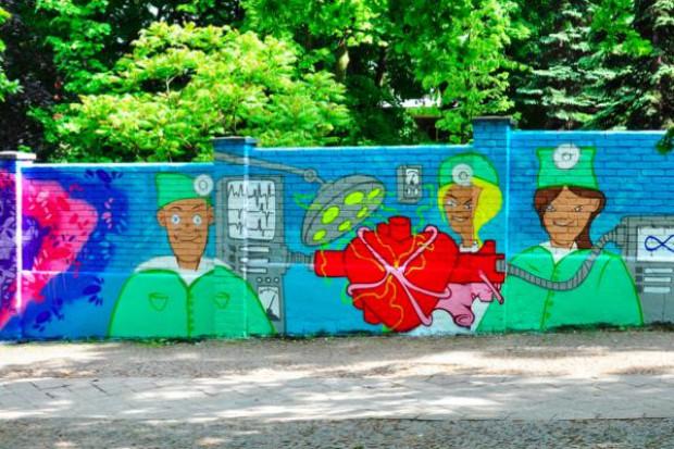 Gdańsk: promują oddawanie narządów sztuką graffiti