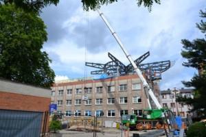 Zielona Góra: powstaje lądowisko na dachu szpitala